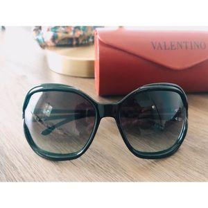 Valentino Emerald green Sunglasses